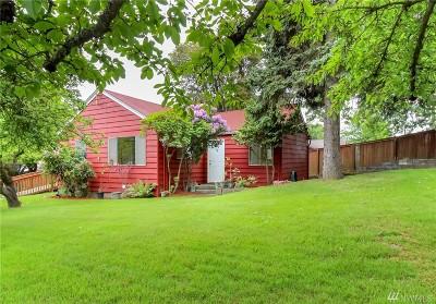 Tacoma Single Family Home For Sale: 4823 La Hal Da Ave NE
