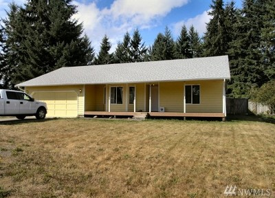 Yelm Single Family Home Pending Inspection: 16331 84th Ct SE