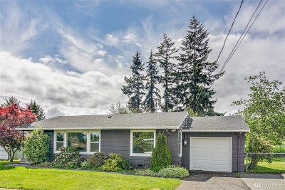 SeaTac Single Family Home For Sale: 12850 24th Ave S