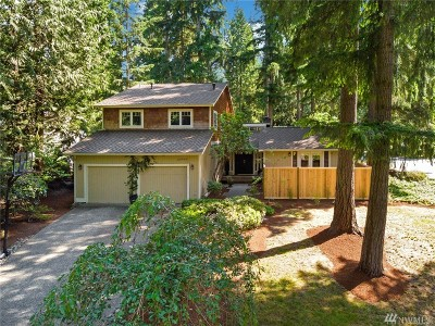 Sammamish Single Family Home For Sale: 20905 NE 25th St