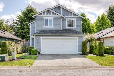 Tumwater Single Family Home For Sale: 8115 Westcott Lane SE