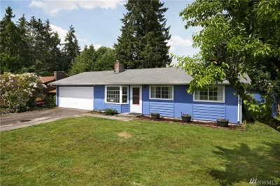 Redmond Single Family Home For Sale: 16820 NE 107th St