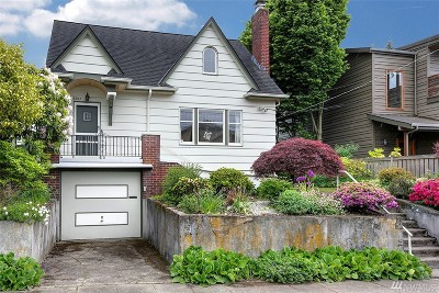 Seattle Single Family Home For Sale: 3307 NW 73rd St