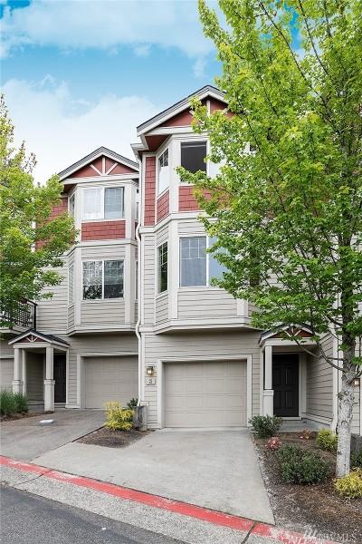 Bellevue WA Condo/Townhouse For Sale: $629,000