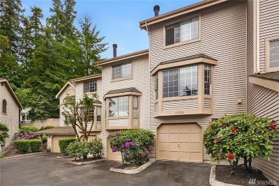 Bellevue Condo/Townhouse For Sale: 4160 178th Lane SE #4