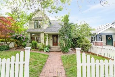 Tacoma Single Family Home For Sale: 419 J St