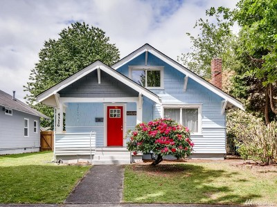 Tacoma Single Family Home For Sale: 4326 S G St