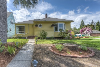 Olympia Single Family Home For Sale: 805 Governor Stevens Ave SE