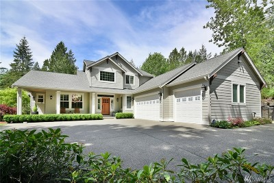 Gig Harbor Single Family Home For Sale: 13520 Crescent Valley Dr NW