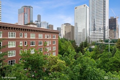 Seattle Condo/Townhouse For Sale: 1400 Hubbell Place #1003