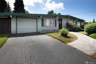 SeaTac Single Family Home For Sale: 3213 S 203rd St
