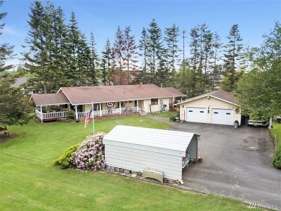 Buckley Single Family Home For Sale: 1645 Collins Road #a Rd