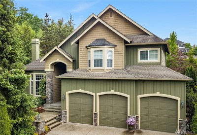 Sammamish Single Family Home For Sale: 25850 NE 4th Place