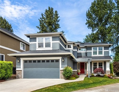 Redmond Single Family Home For Sale: 17372 NE 46th Ct