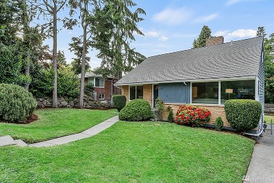 Seattle Single Family Home For Sale: 3524 NE 94th St