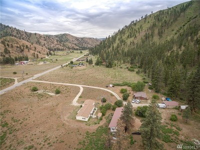 Chelan Single Family Home For Sale: 6476 Navarre Coulee Rd