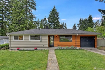 Bellevue Single Family Home For Sale: 4011 140th Ave SE