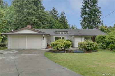 Bellevue Single Family Home For Sale: 40 165th Ave SE