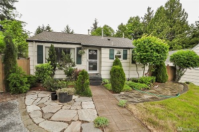 Seattle Single Family Home For Sale: 1038 NE 117th St