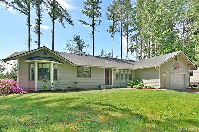Poulsbo Single Family Home For Sale: 23255 Rhododendron Lane NW