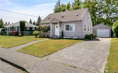 Tacoma Single Family Home For Sale: 832 S Meyers St
