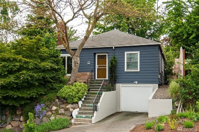 Seattle Single Family Home For Sale: 218 NW Bowdoin Place