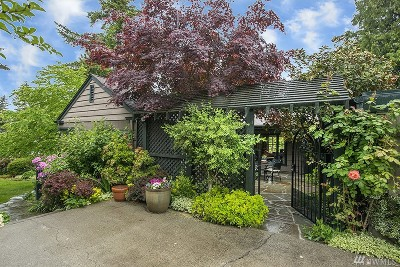 King County Single Family Home For Sale: 4024 30th Ave W