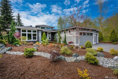 Blaine Single Family Home Contingent: 5541 Peregrine Wy