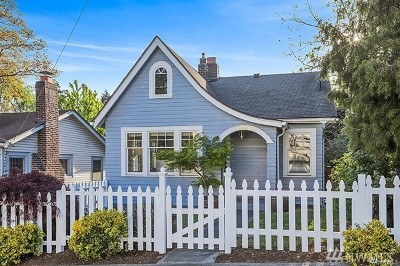 Seattle Single Family Home For Sale: 8415 Fremont Ave N