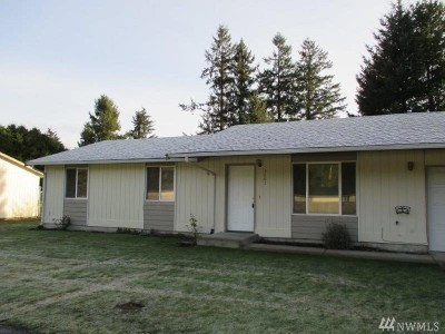 Spanaway Multi Family Home For Sale: 3607 217th St E