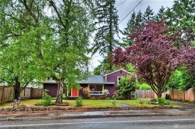 Shoreline Single Family Home For Sale: 19603 19th Ave NE