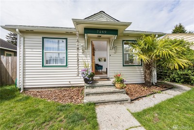 King County Single Family Home For Sale: 7149 31st Ave SW