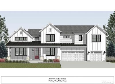 Kirkland Single Family Home For Sale: 4534 117th (Homesite 27) Dr NE