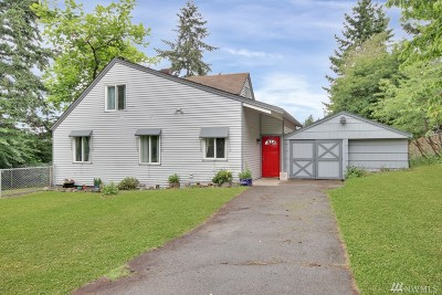 Des Moines Single Family Home For Sale: 2622 S Kent Des Moines Rd