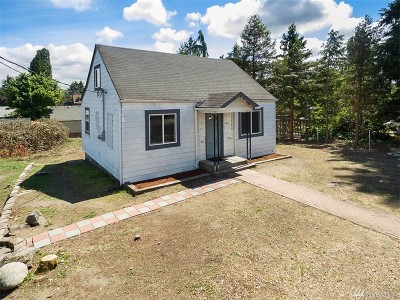 Tacoma Single Family Home For Sale: 3511 S Wilkeson St