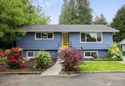Seattle Single Family Home For Sale: 9603 14th Ave NW
