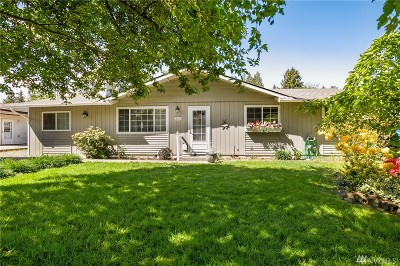 Olympia Single Family Home For Sale: 8312 58th Ave SE