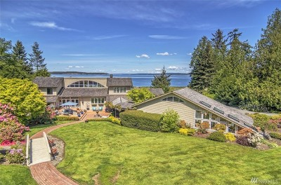 Port Ludlow Single Family Home For Sale: 651 South Bay Wy