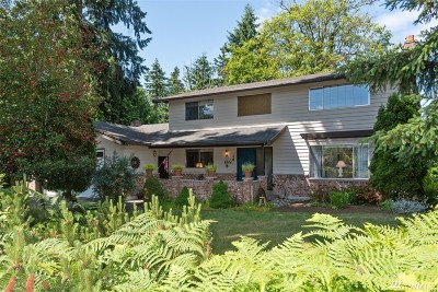 Mukilteo Single Family Home For Sale: 8904 53rd Ave W