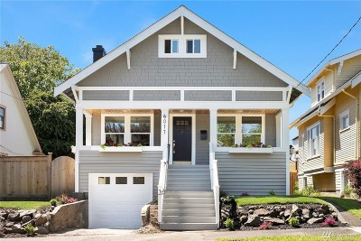 Seattle Single Family Home For Sale: 6017 7th Ave NW