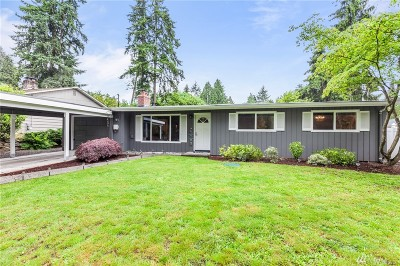Redmond Single Family Home For Sale: 8425 134th Ave NE