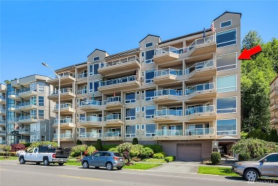 Seattle Condo/Townhouse For Sale: 1550 Alki Ave SW #500