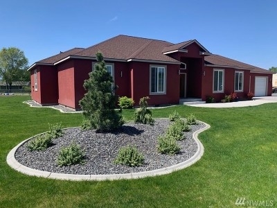 Moses Lake Single Family Home For Sale: 4801 Carol Dr NE