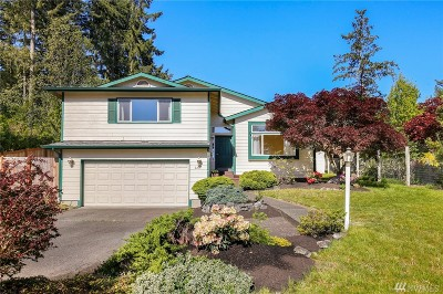 Olympia Single Family Home For Sale: 2215 Crestline Blvd NW