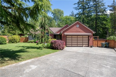 Bellingham Single Family Home Sold: 1801 Lake Crest Dr