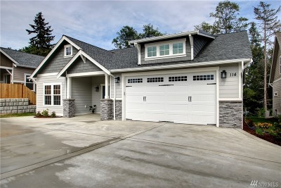 Anacortes Single Family Home Contingent: 114 Haddon Road