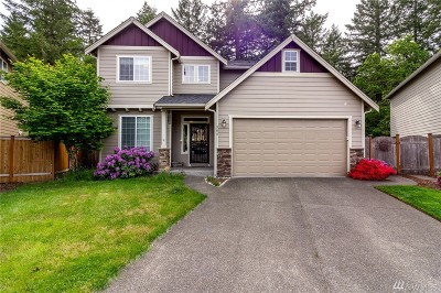 Spanaway Single Family Home For Sale: 504 183rd St Ct E