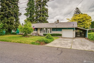 Olympia Single Family Home For Sale: 1236 Stillwell St NE