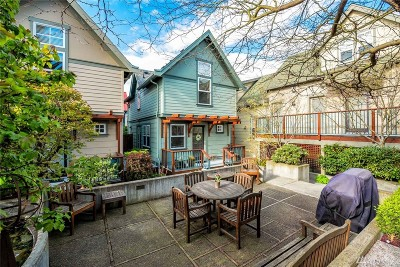 Seattle Single Family Home For Sale: 6318 5th Ave NE #F