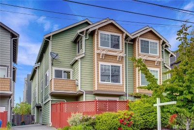 Seattle Single Family Home For Sale: 1736 NW 59th St #B